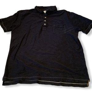 Billy Reid cotton polyester short sleeve polo XXL